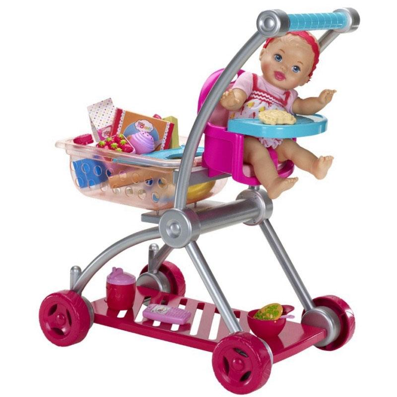 Lm bebe y carrito super