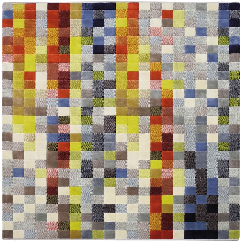 Alfombra Tejido Pixel D Colorido 13 75 2 00X2 50