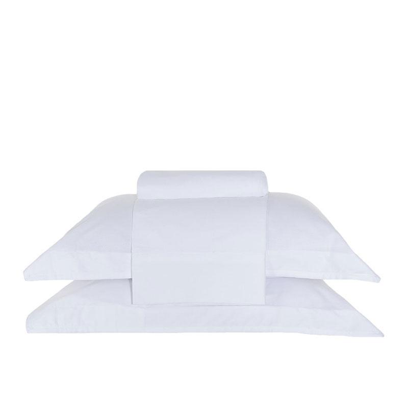 Jgo Sabanas Basic Premium Blanco - 170X250