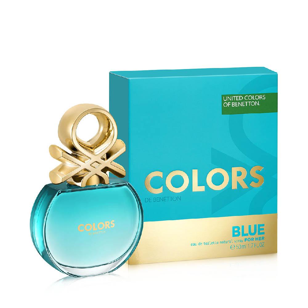BNT COLORS BLUE EDT 50ML