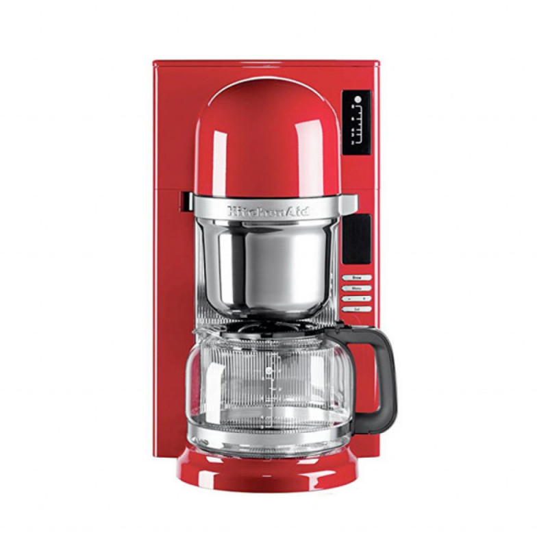 Cafetera kitchenaid mod 5kcm0802eer roja 8tazas
