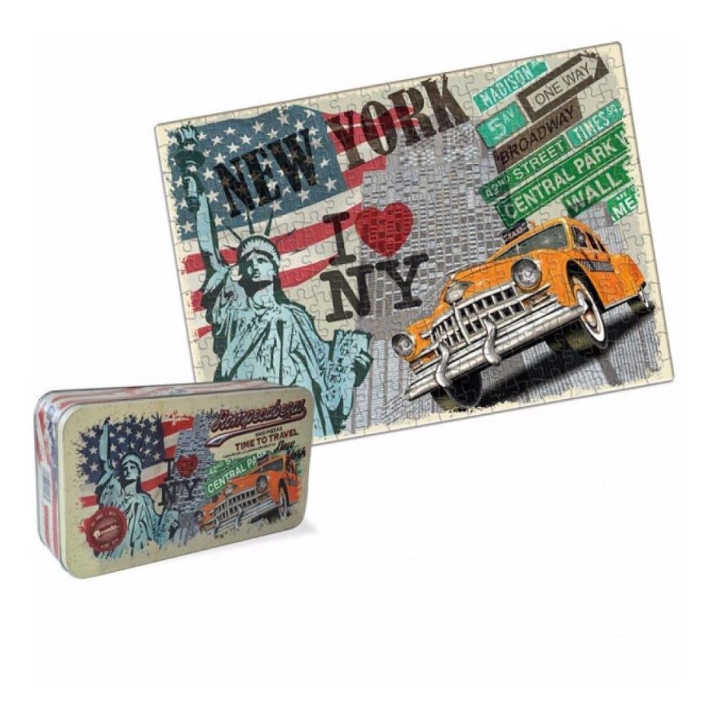 Romp x 1000 pzas lata time to travel new york