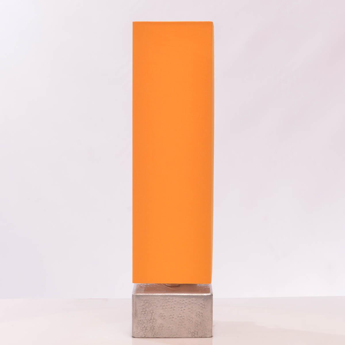 Lámpara de Mesa 37 cm C/Pantalla color amarillo