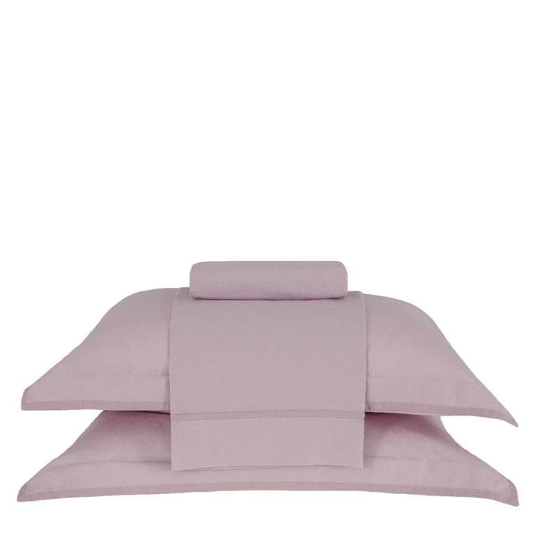Juego Sabanas Basic Premium Rosa 170X250