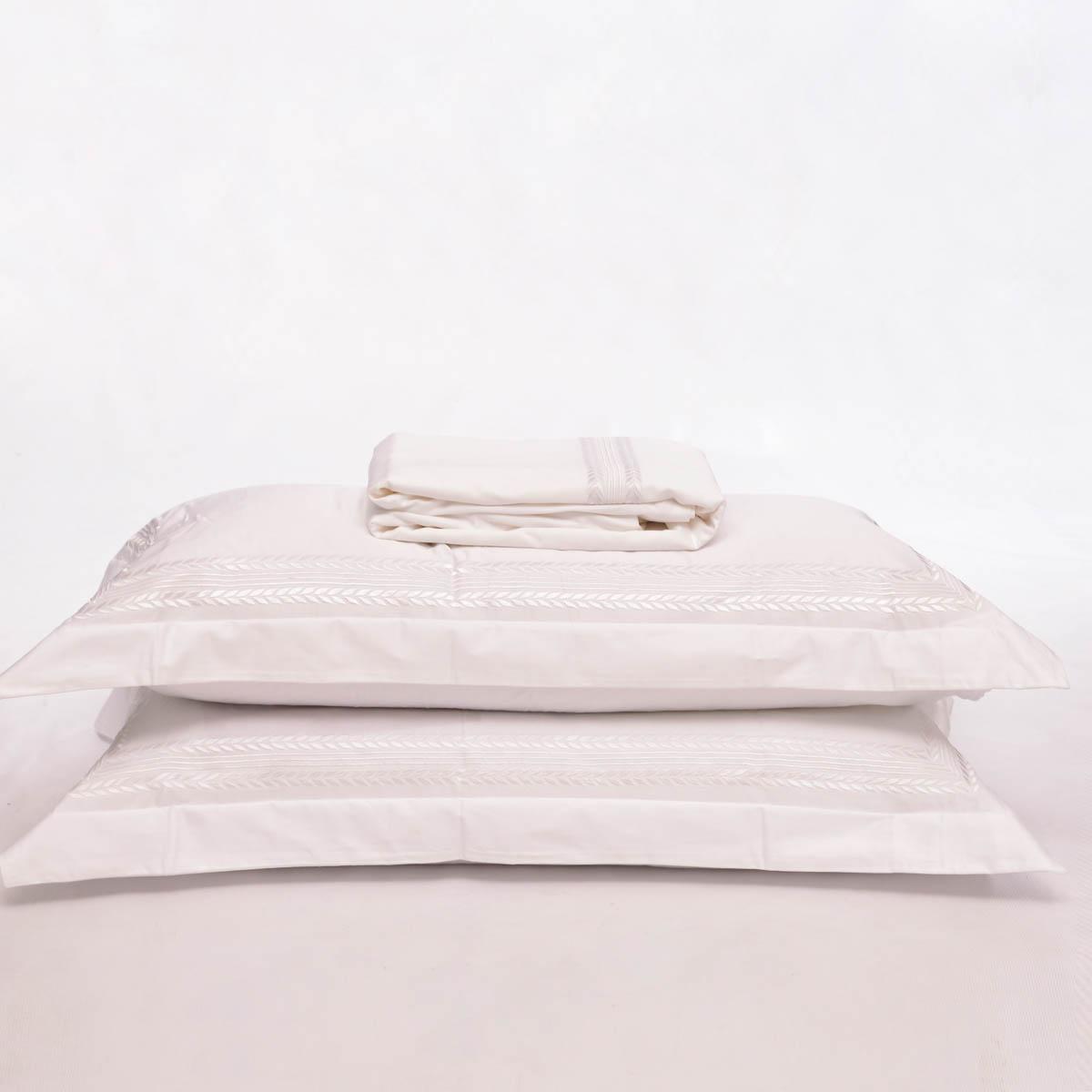 Duvet 2 Sham K Caprice Blanco