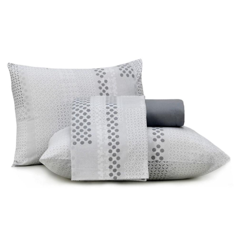 Juego De Sabanas Twin In Cotton Mono Dots 180X240