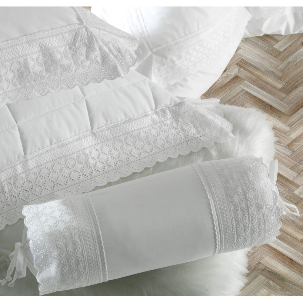 Juego De Sabanas Queen Maison Dart  Raffune 240X250 Blanco
