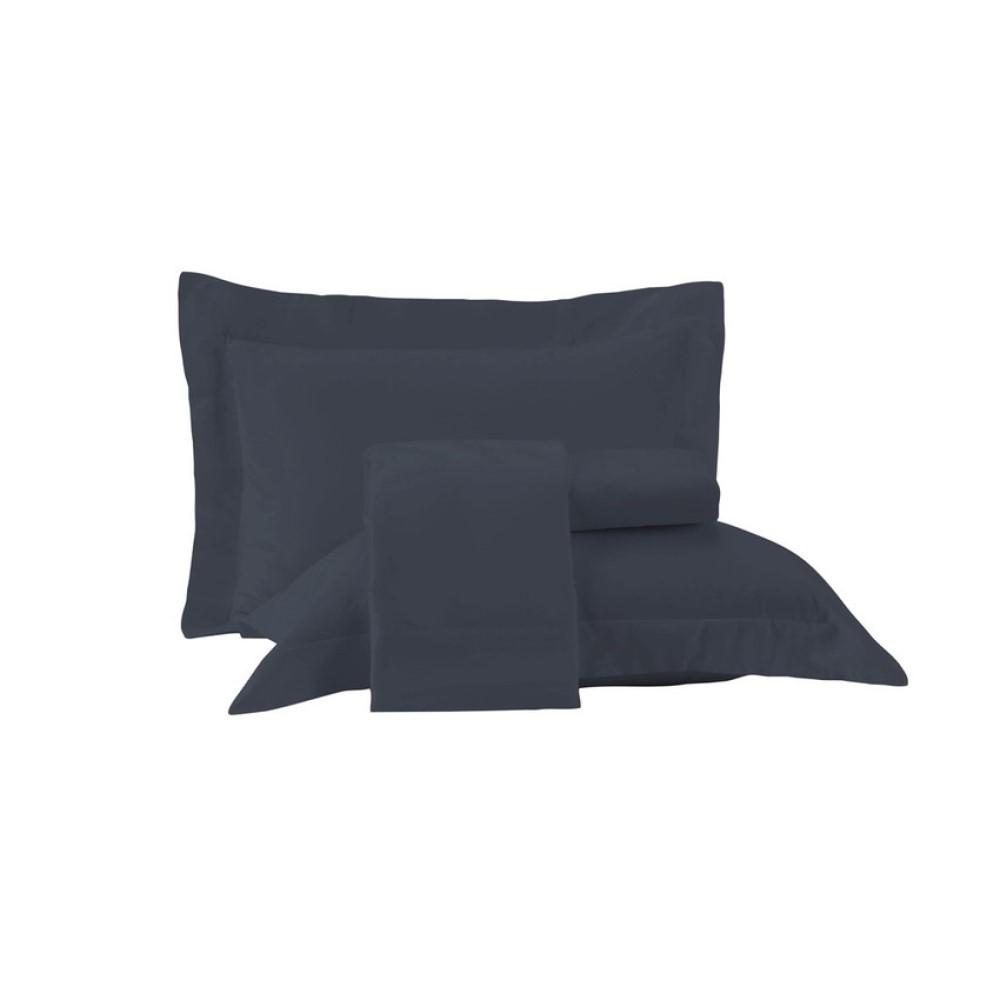 Juego De Sabanas Essence 160X250 Azul Dimensao