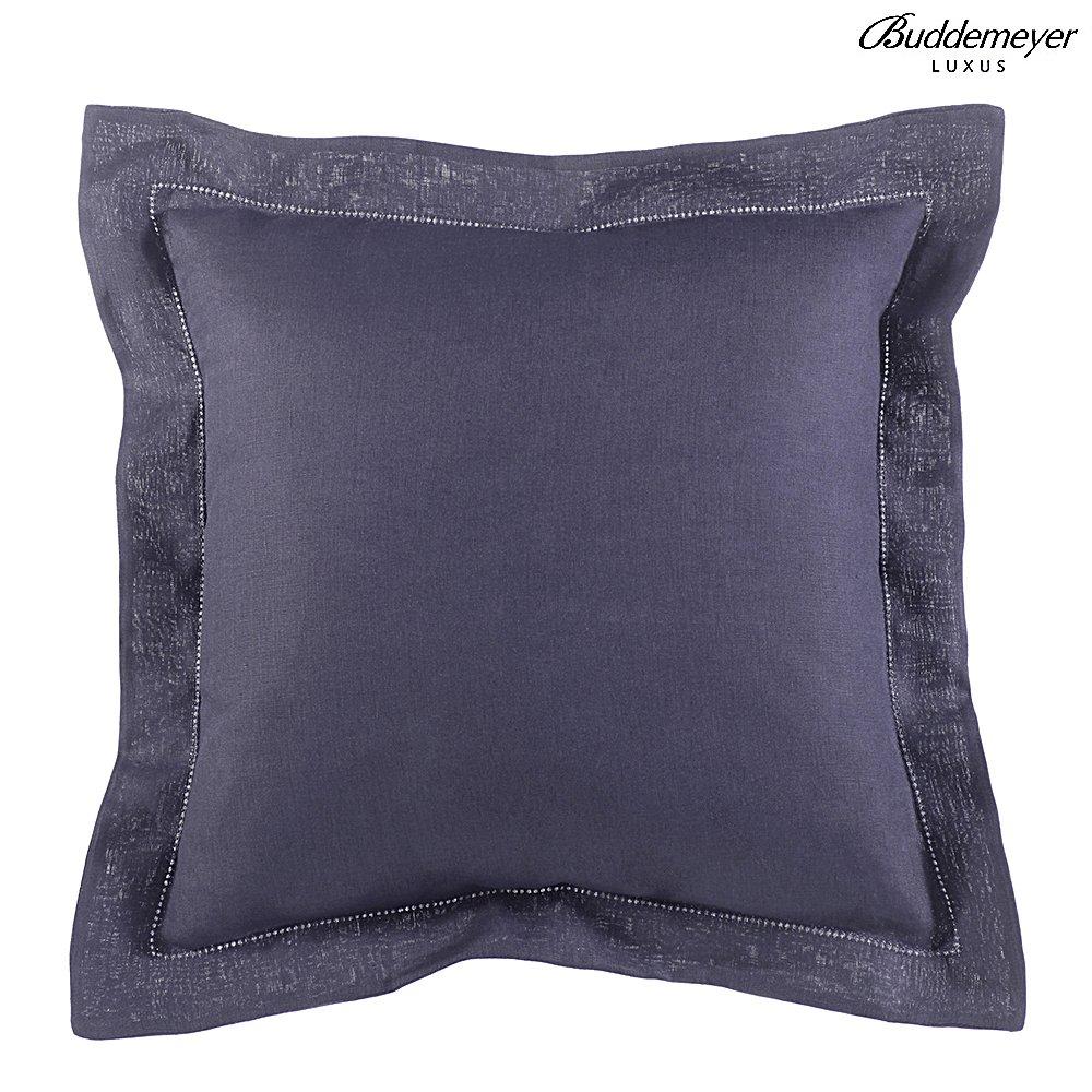 Almohada Lino - 0003 / Azul Noturno - 40X40