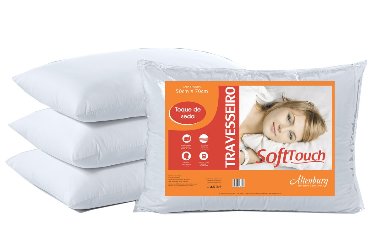 ALMOHADA SOFT TOUCH 50X70