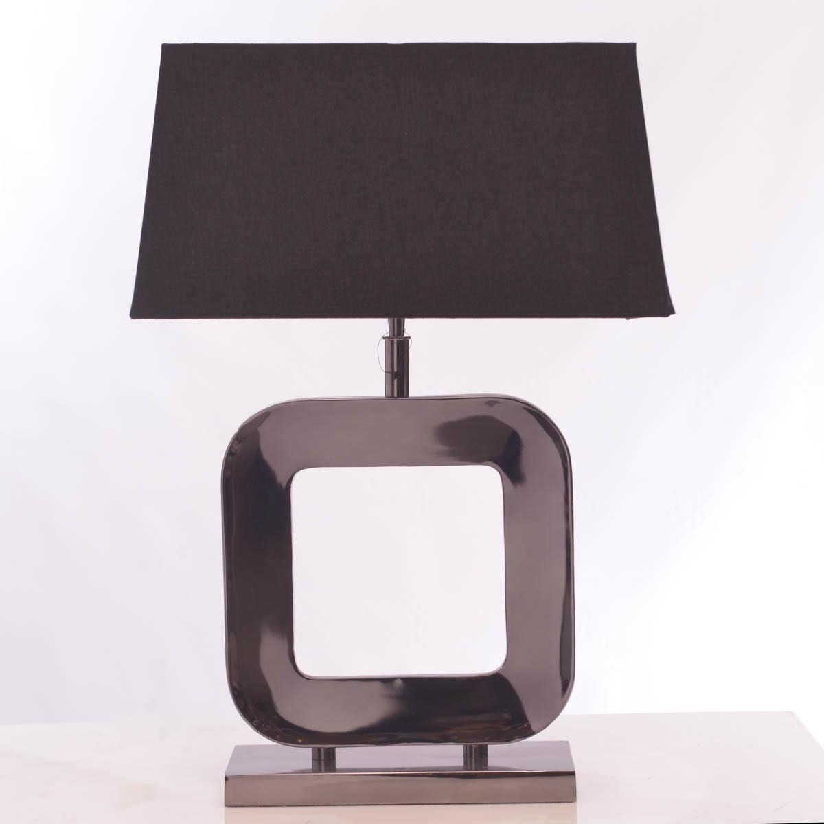 Lámpara de mesa Cuadrada