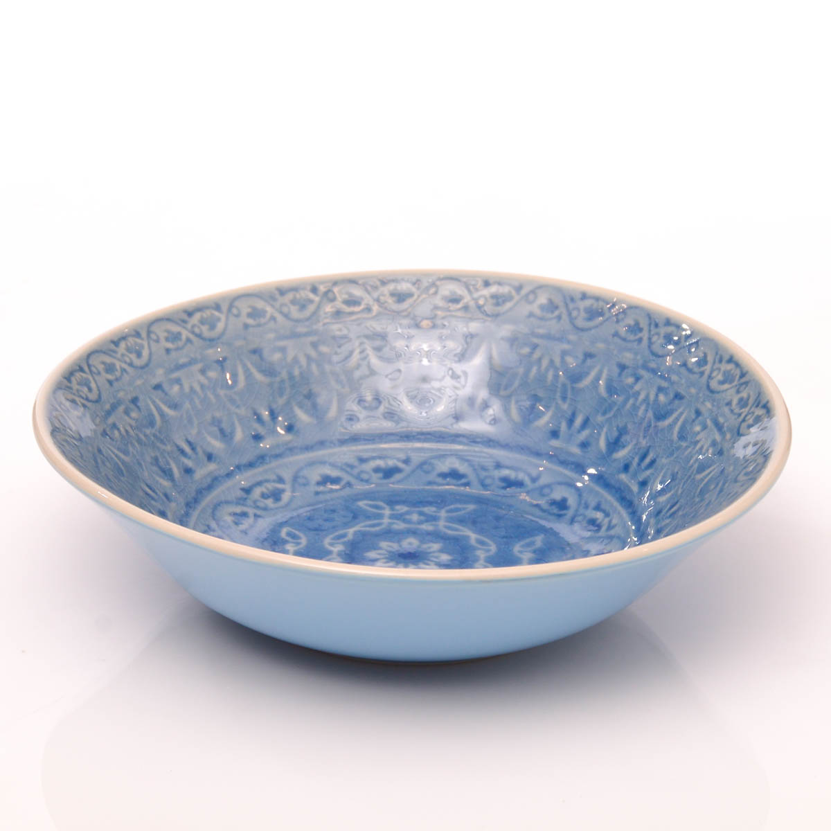 Ensaladera 22 cm azul