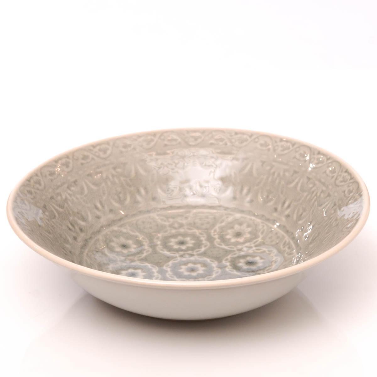 Bowl 26 cm gris