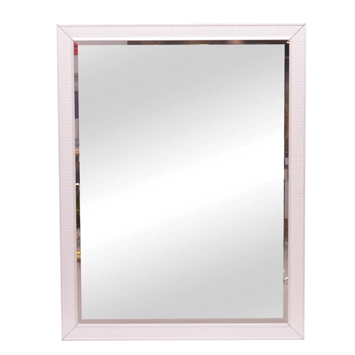 Espejo marco white tribal 90 X 120 cm