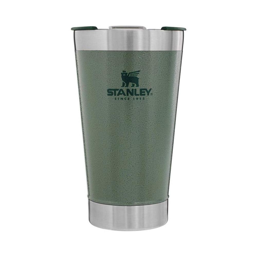 Vaso termico cervecero c/abridor classic 473 ml verde