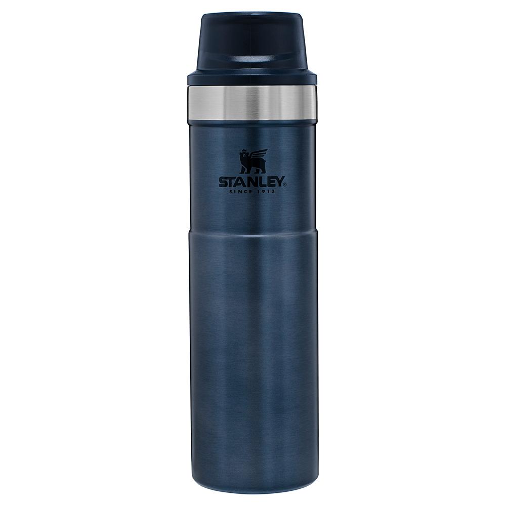 Mug viajero classic c/gatillo 590 ml azul-
