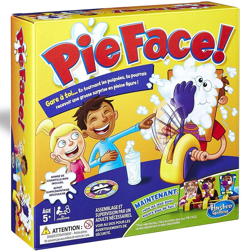 Pie face chain reaction