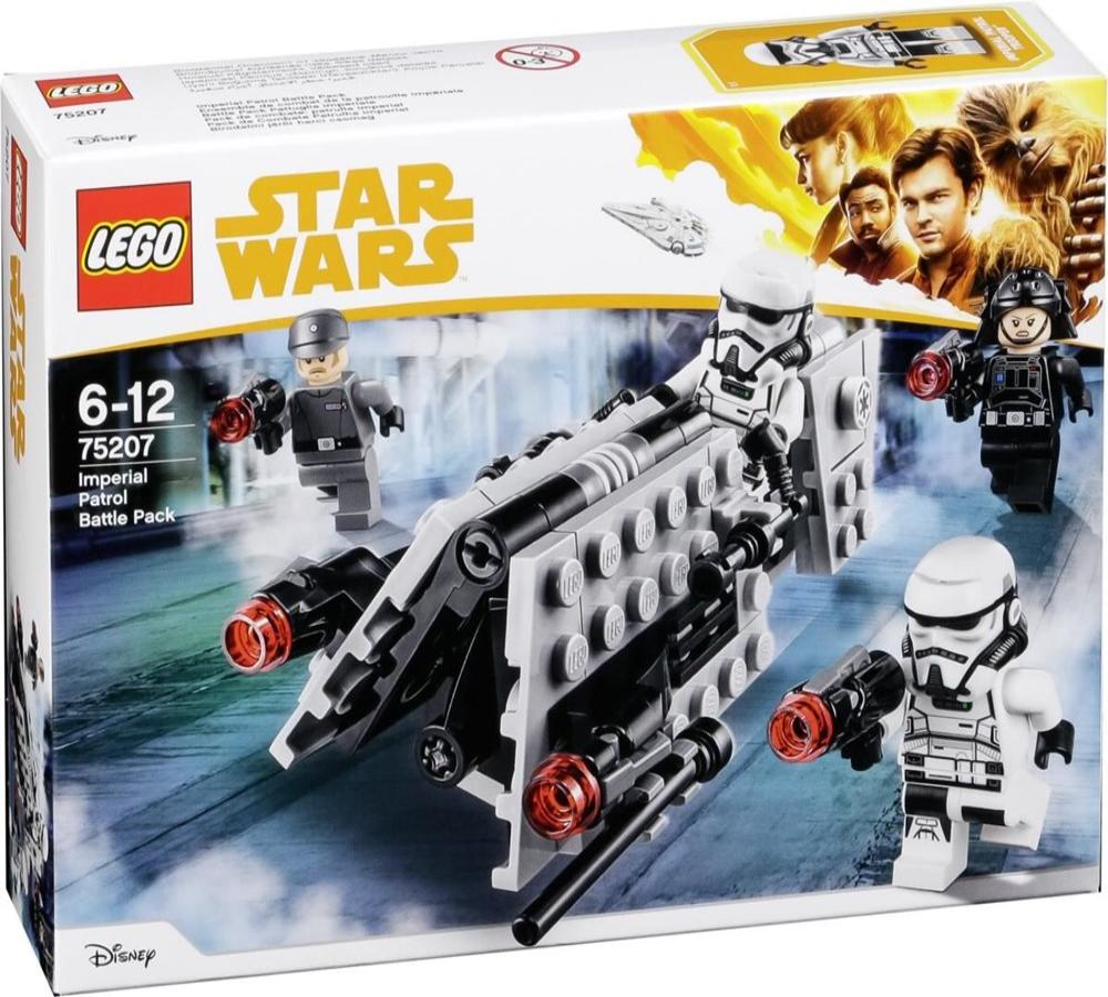 Star Wars Han Solo Imperial Patrol Battle