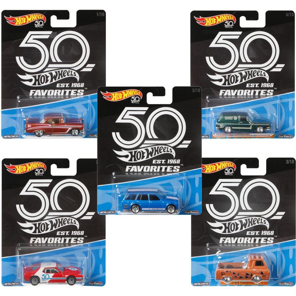 Hw surtido vehiculos premium 50 aniversario