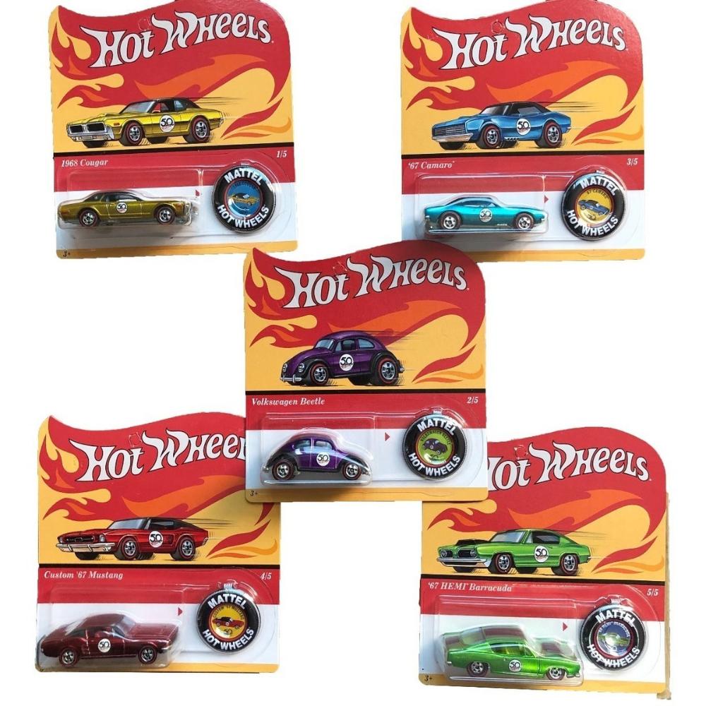 Hot wheels surtido 50 aniversario auto promo