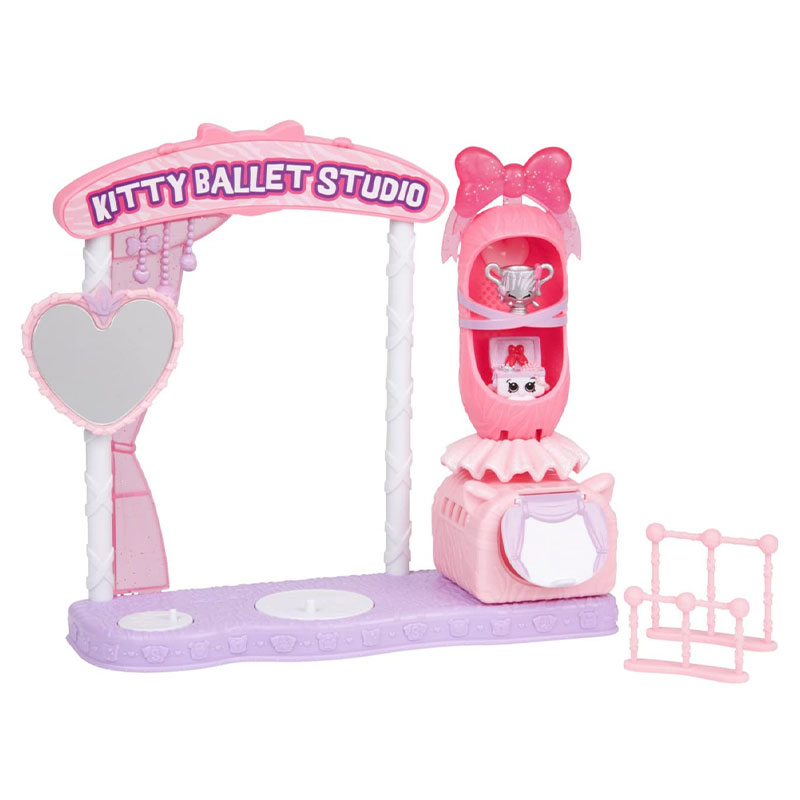 Shopkins s9 set kitty ballet studio
