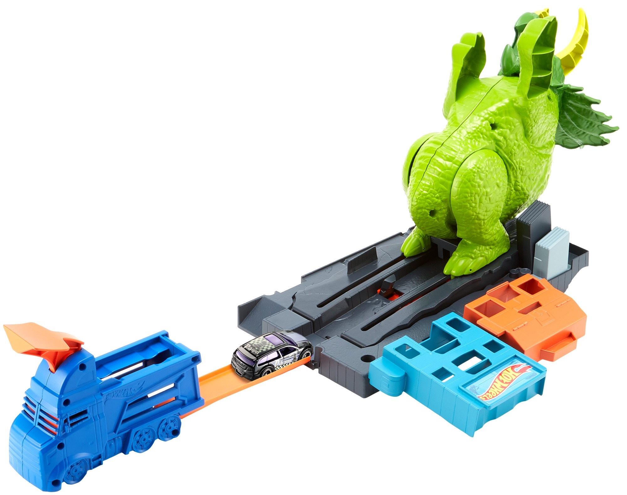 Hot wheels triceratops destructor