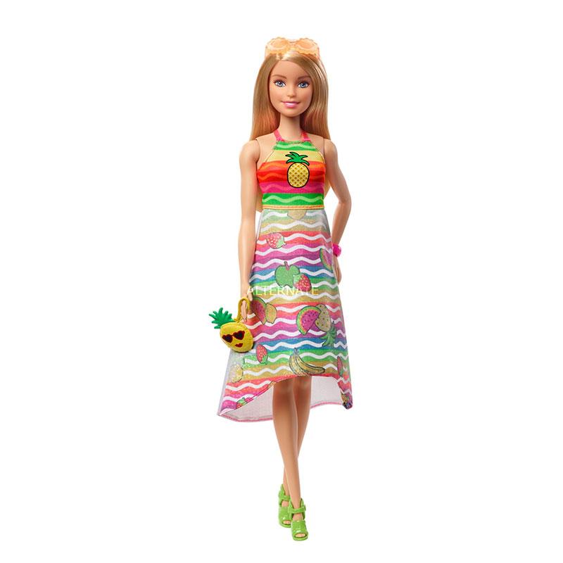 Barbie + crayola sorpresa de frutas