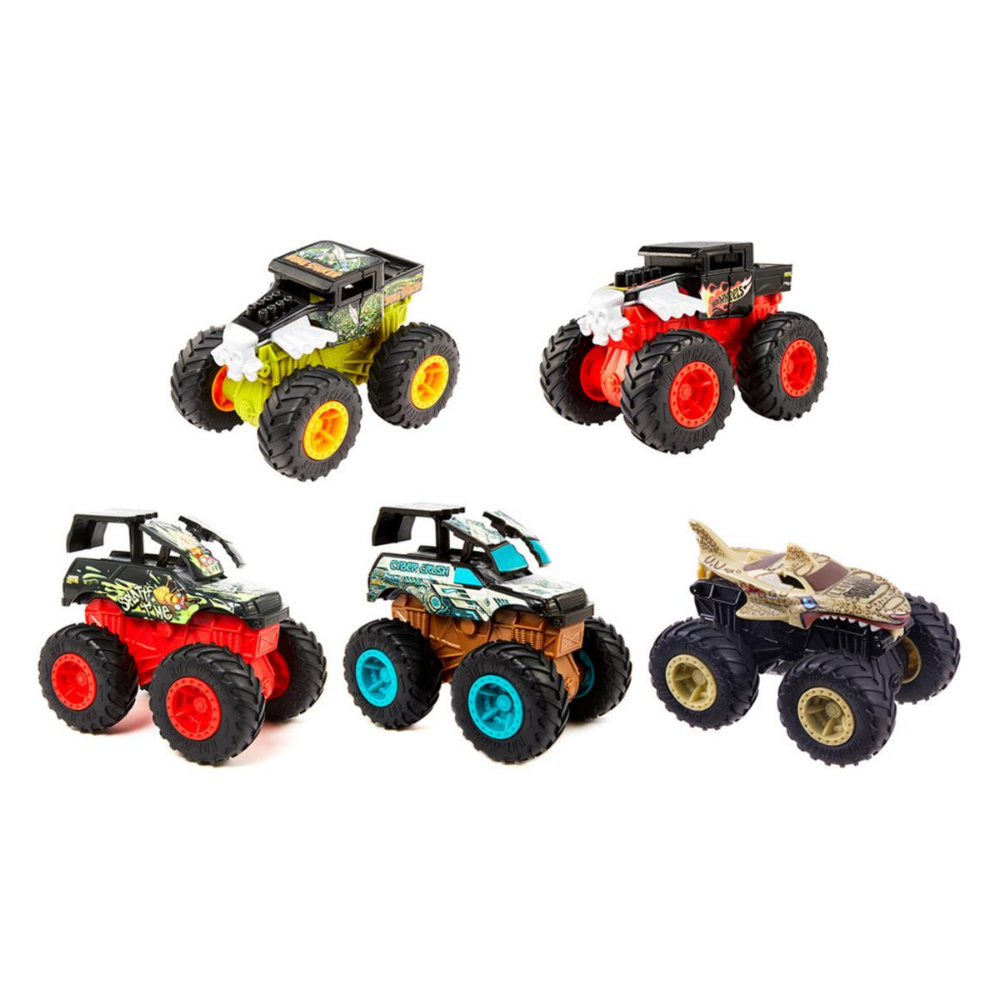Hw monster trucks 1 43 feature asst