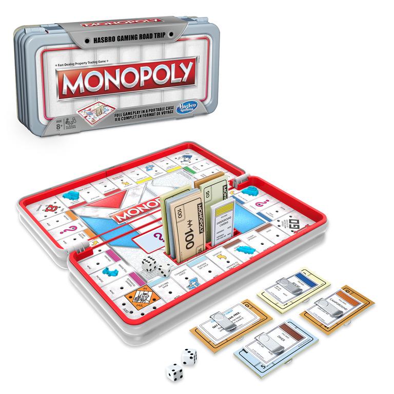 Hasbro gaming road trip monopoly