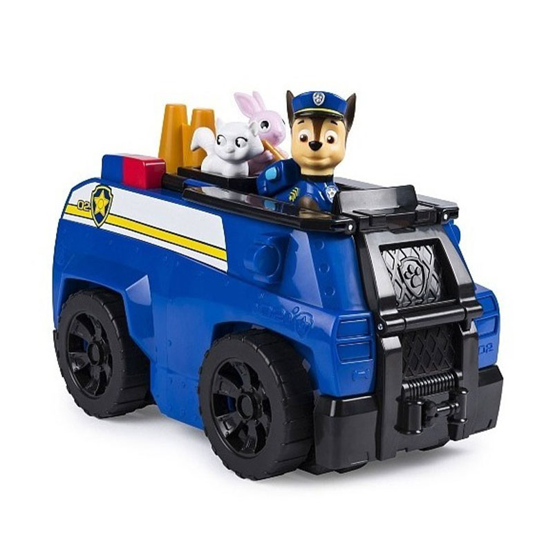 Paw patrol set vehículo transformab