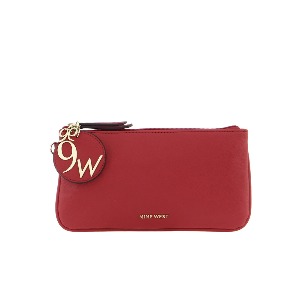 Small Leather Goods Lrg Wristlet Lipstick Red