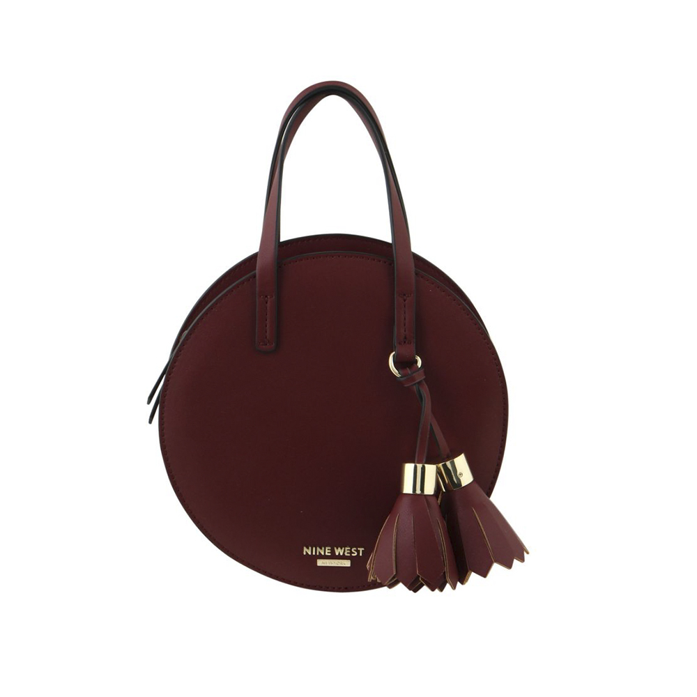 Handbags Full Moon Circle Bag Claret