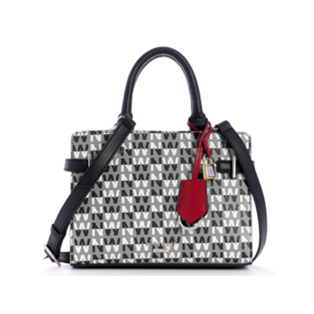 Handbags Nw Block Satchel Black Multi