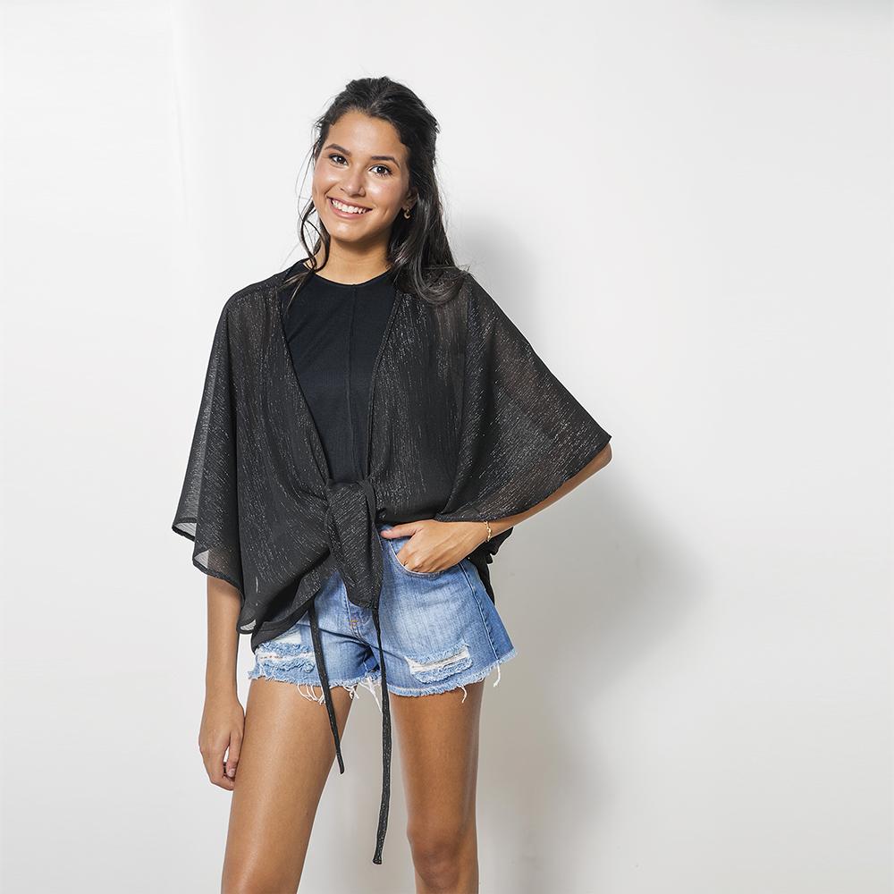 Kimono Brillito Negro 2T