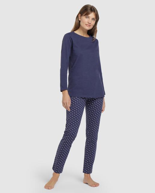 Pijama largo de mujer Unit de punto