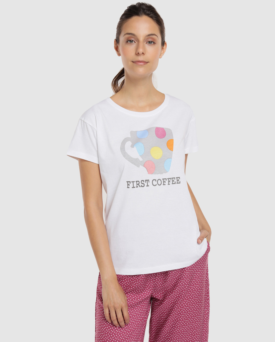 Camiseta de manga corta de mujer Unit