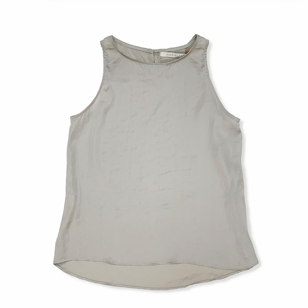 Blusa Basica Gris Plata 3T