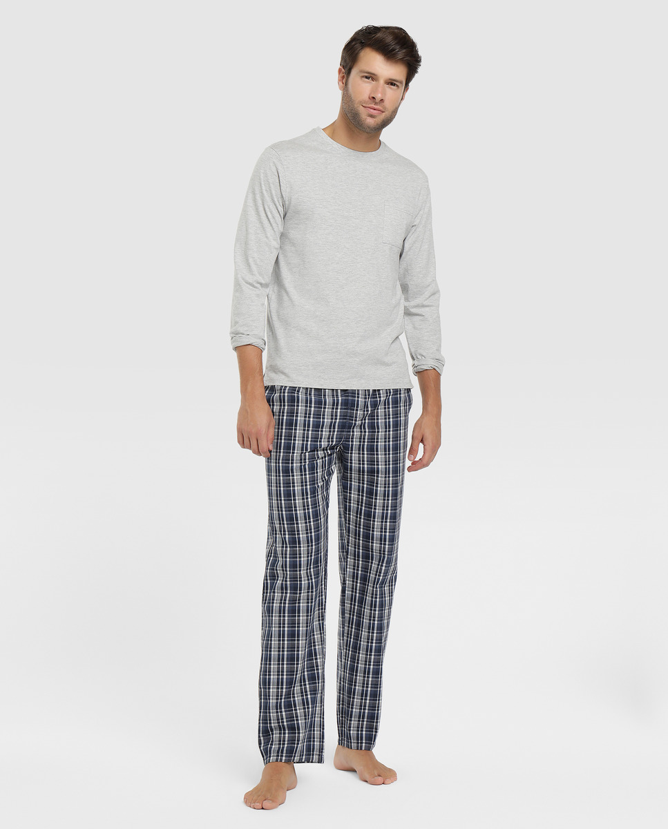 Pijama largo de hombre Unit