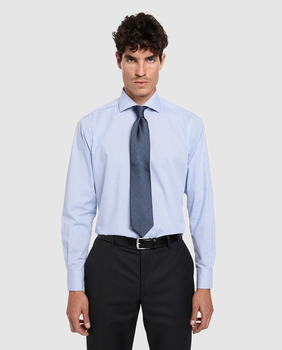 Camisa de hombre Unit cuadro Vichy classic fit