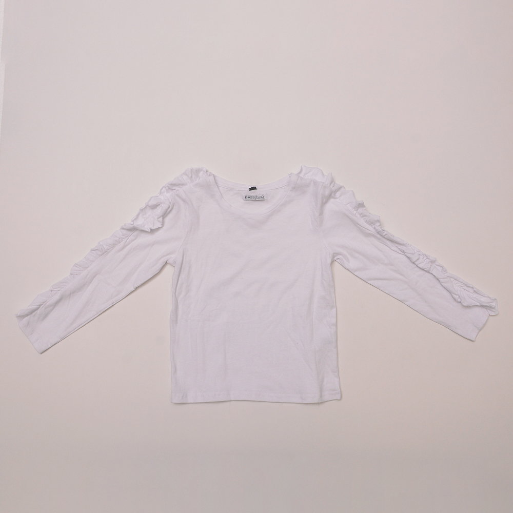 Remera Ml C/Detalles White Inf Niña 4/14