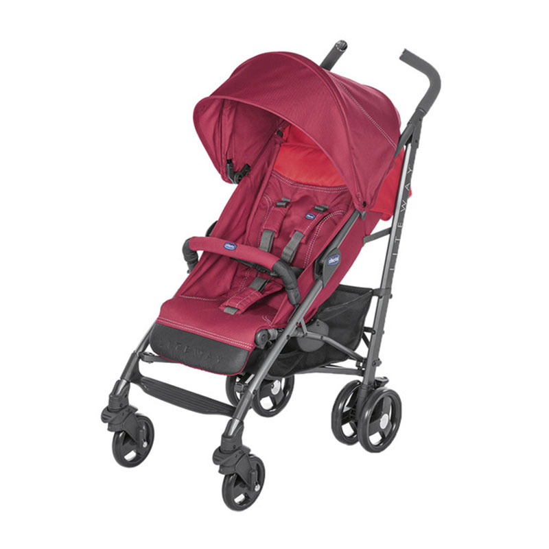 Carritode paseo lite way3 red berry