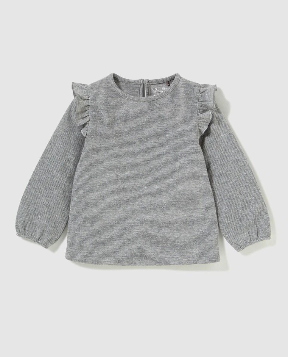 Camiseta de bebé Unit gris