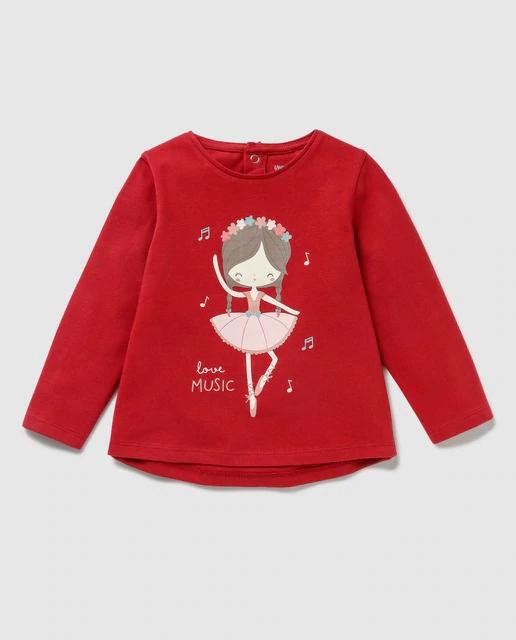 Camiseta de bebé Unit con print