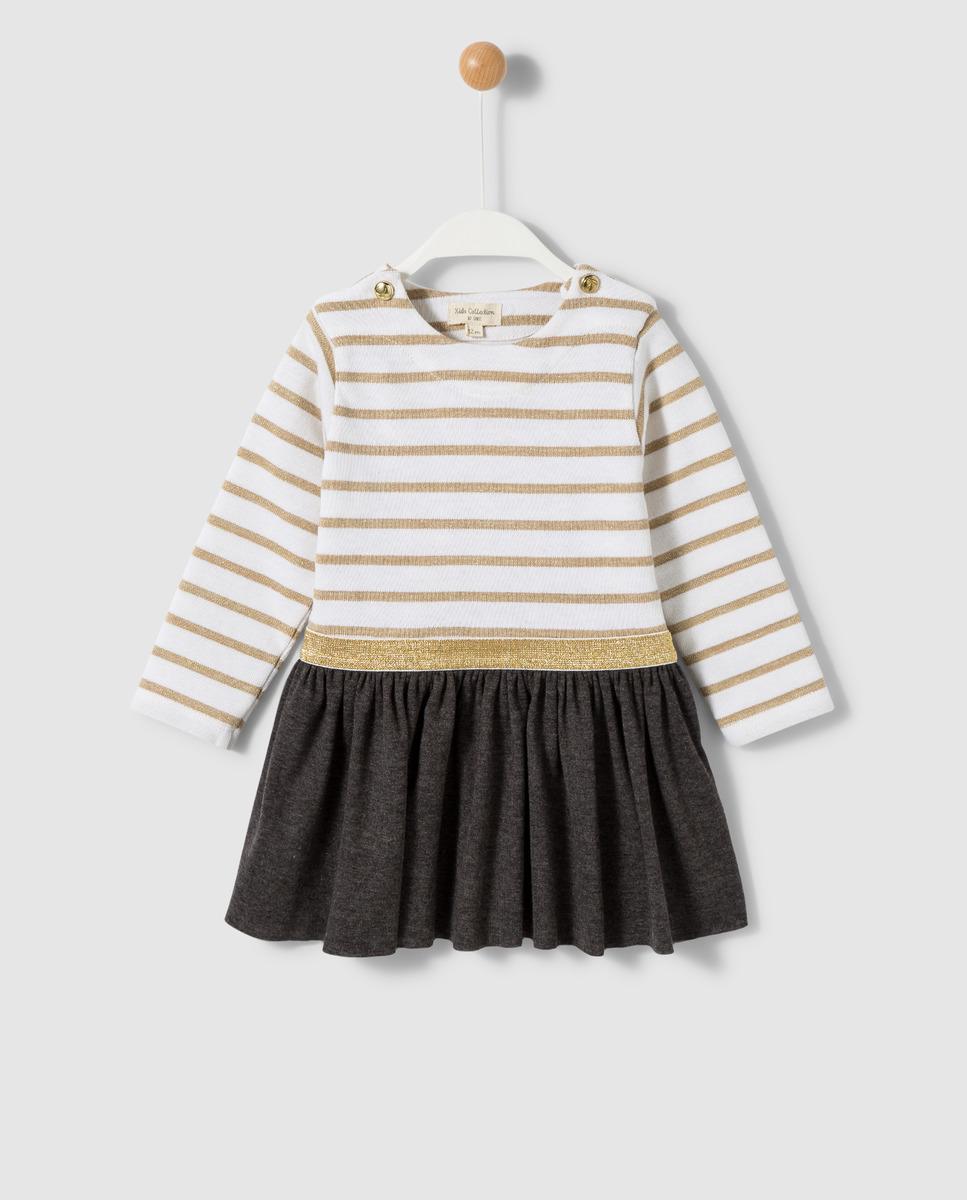 Vestido combinado de bebé Unit de felpa
