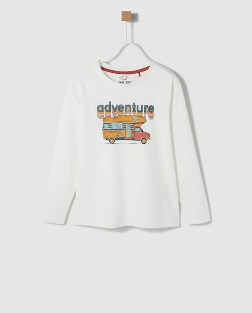 Camiseta con print infantil Unit