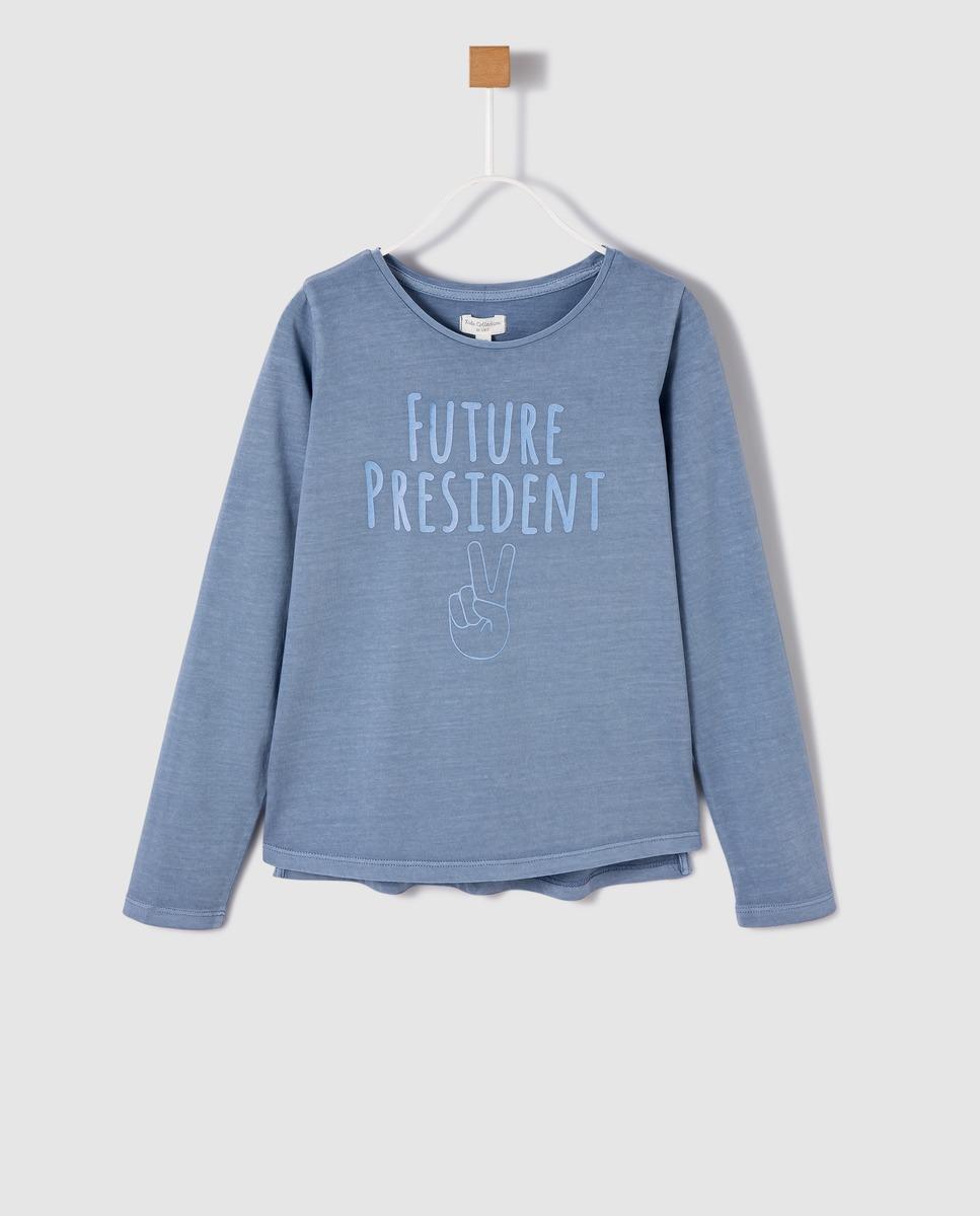 Camiseta de manga larga infantil Unit