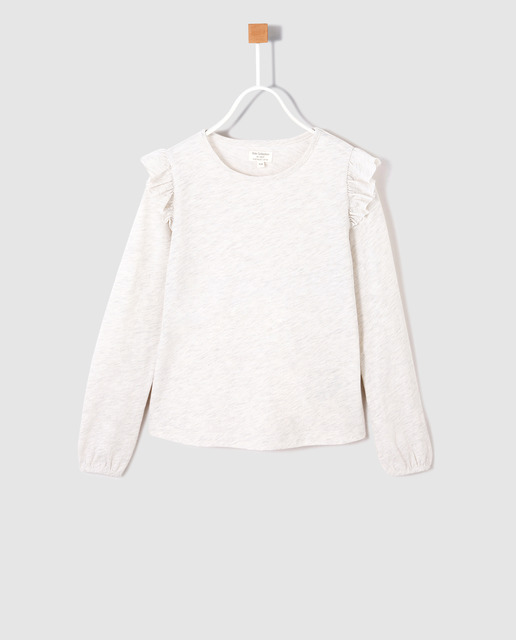 Camiseta infantil Unit gris