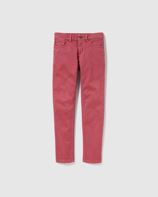 Pantalón 5 bolsillos infantil Unit satén