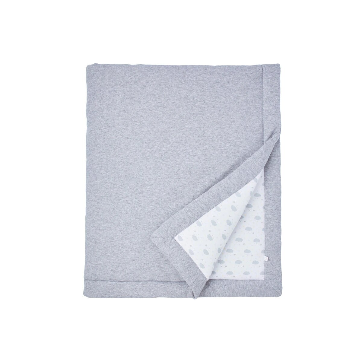 Edredón Relleno para Cuna (60 x 120 cm.) Cotton Juice Baby Home Baby gris