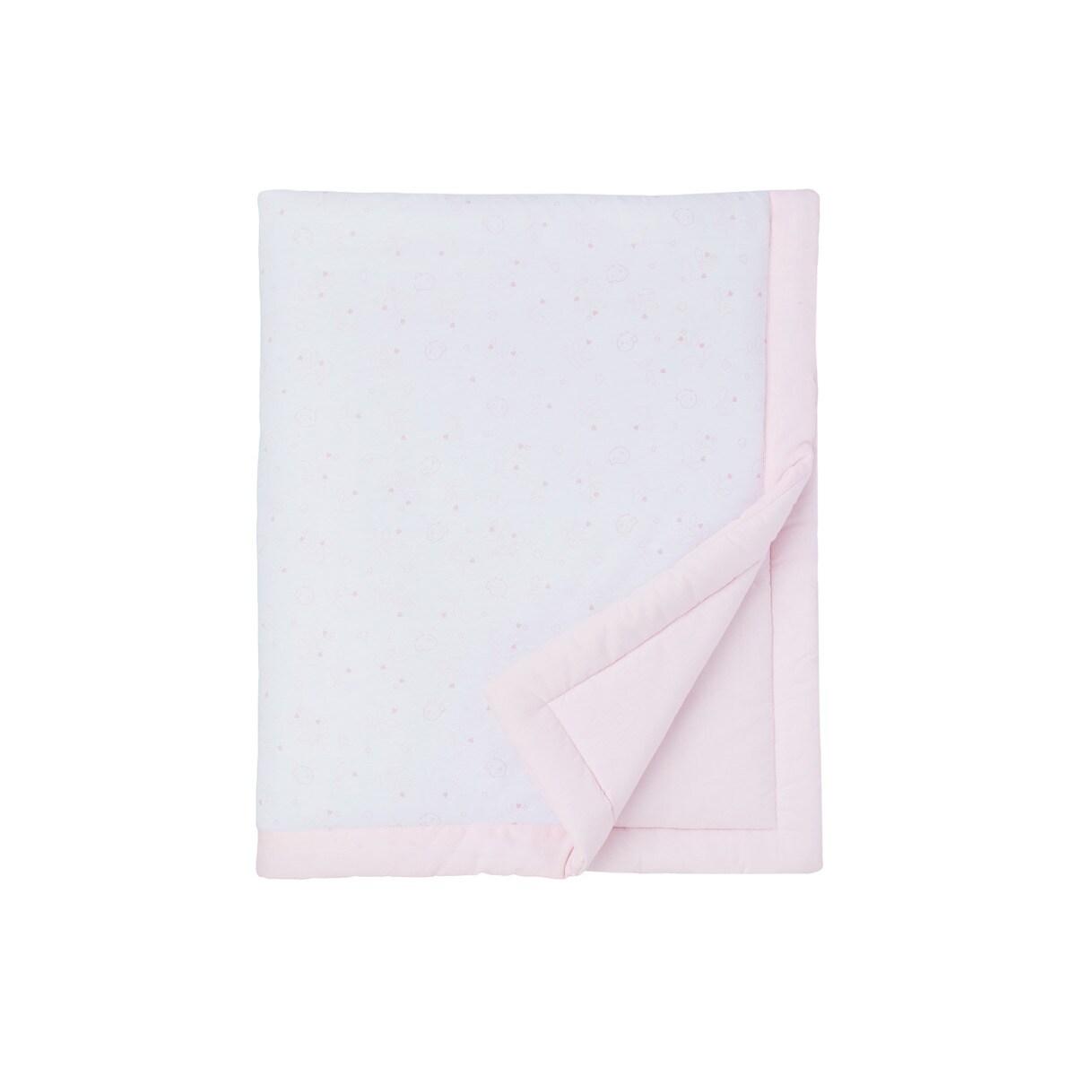Edredón Relleno para Cuna (60 x 120 cm.) Cotton Juice Baby Home Baby rosa